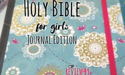 Review: NIV Journal Bible for Girls