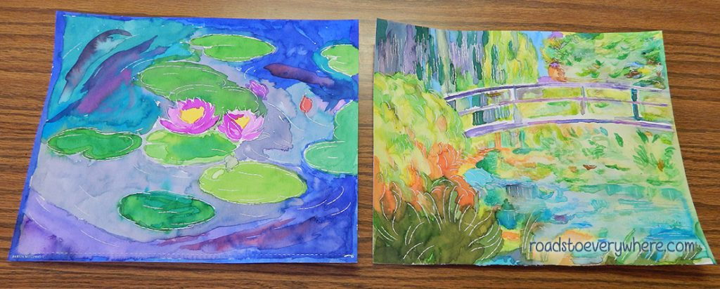 Aquarelle Monet review