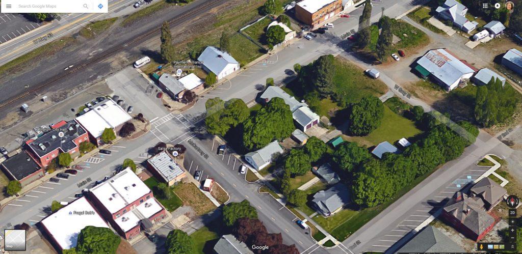 Rathdrum, Idaho on Google Earth