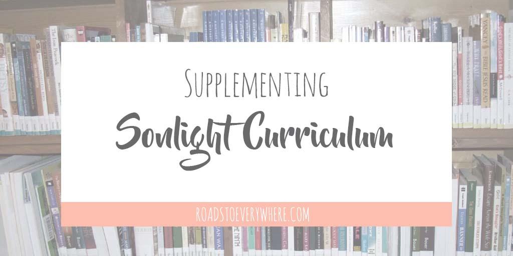 Supplementing Sonlight Curriculum