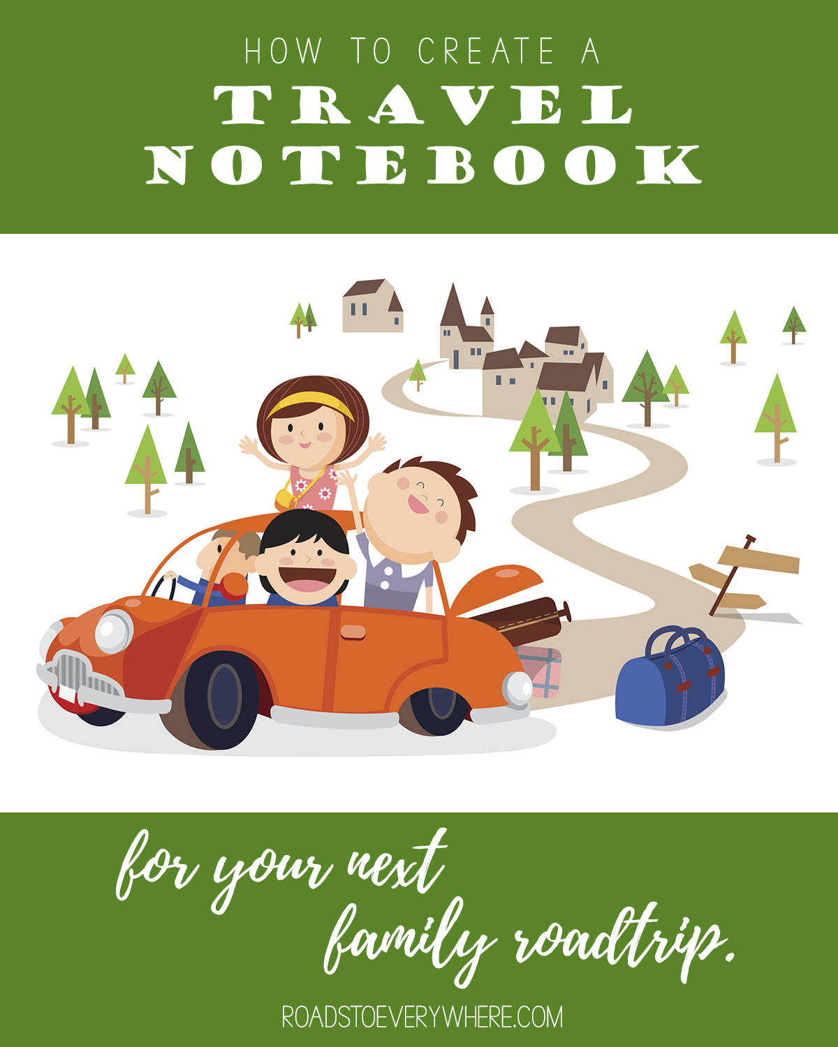 How to create a travel notebook
