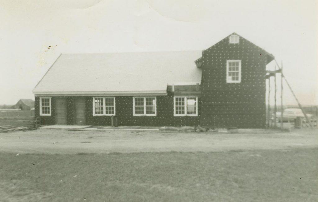 Construction of the Church of the Nazarene, Eldorado, Oklahoma